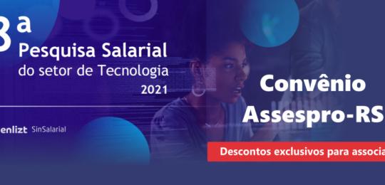 8ª Pesquisa Salarial do setor de Tecnologia 2021