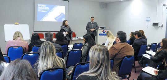 Evento sobre as Formas de Contratação frente a reforma trabalhista