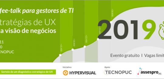 Tecnopuc oportuniza às empresas de tecnologia a conhecerem a ux como ferramenta de negócios