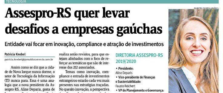 Assespro-RS quer levar desafios a empresas gaúchas