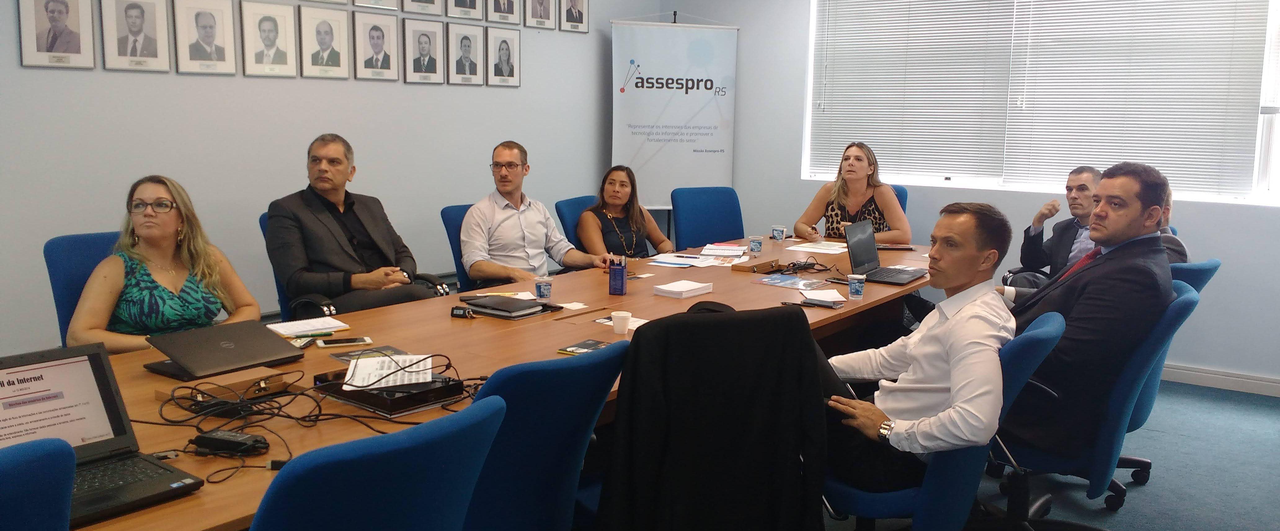 Reunião do Conselho de Inteligência Jurídica discute a LGPD